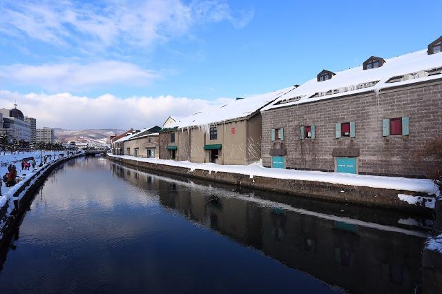 冬の小樽風景